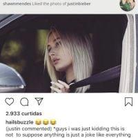 O Shawn Mendes curtiu uma foto da Hailey Baldwin e o Justin Bieber não deixou passar batido
