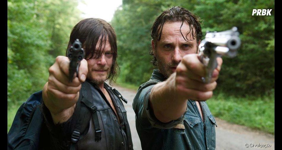 "Em ""The Walking Dead"", Daryl (Norman Reedus) nunca vai desistir de procurar Rick (Andrew Lincoln)"
