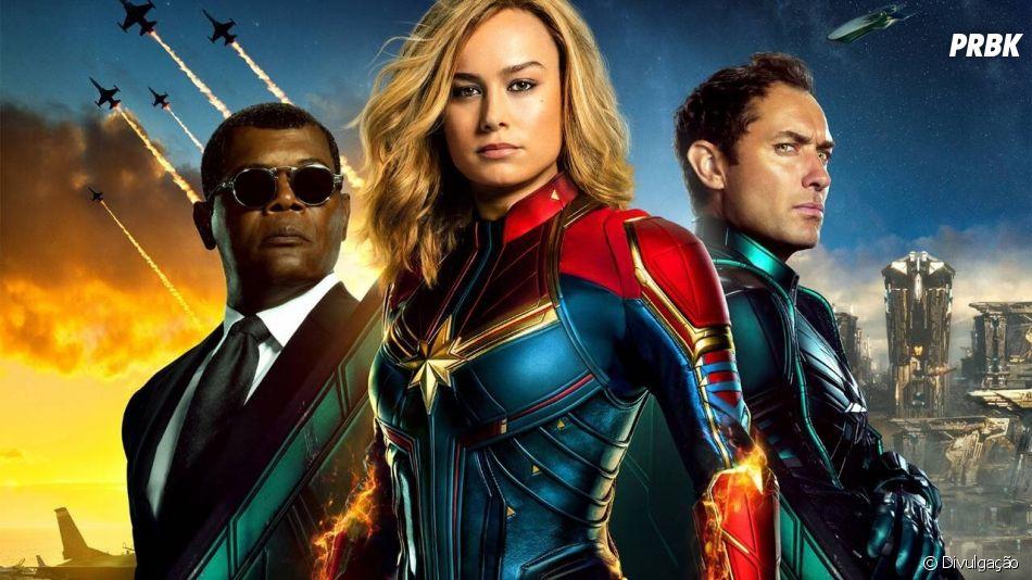 """Lacrou? Sim. Lucrou? Também! """"Capitã Marvel"""" é mais um sucesso da Marvel"""