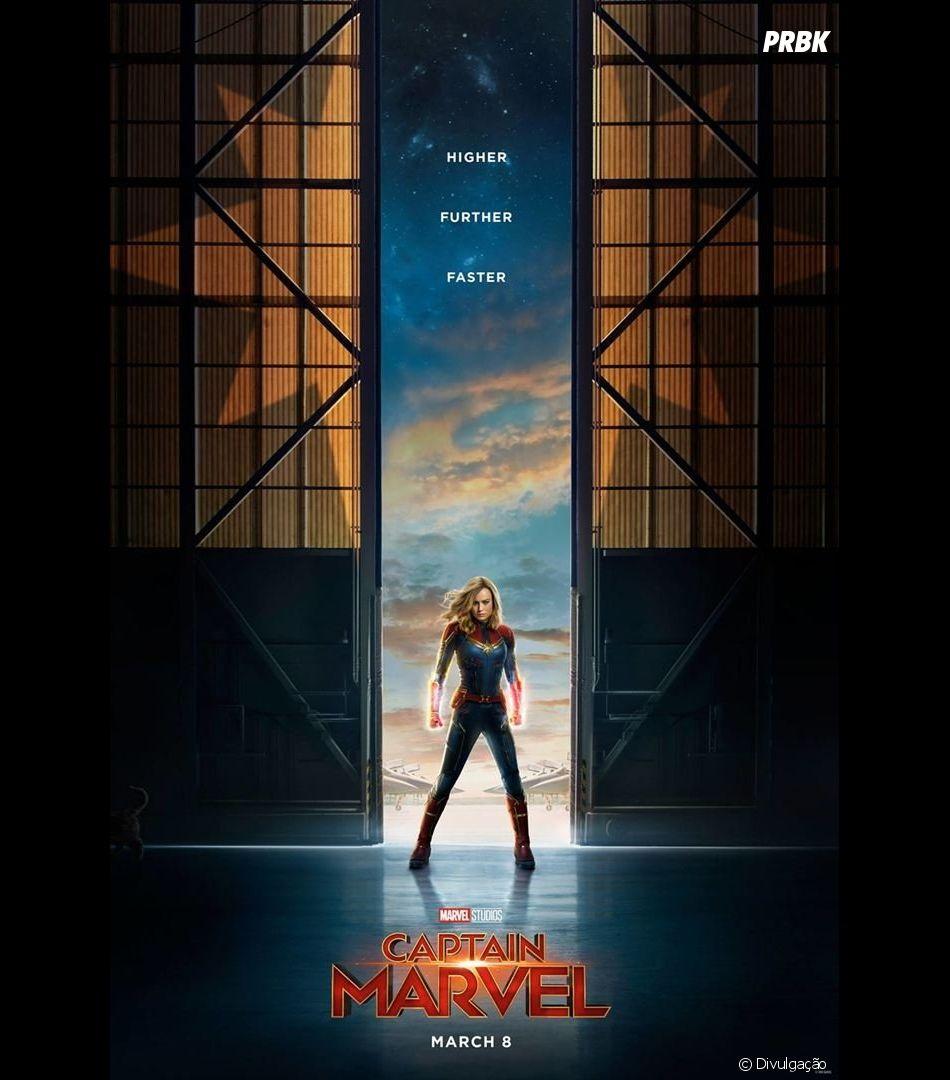 """De """"Capitã Marvel"""": filme traz protagonista mulher e arrasa na bilheteria"""