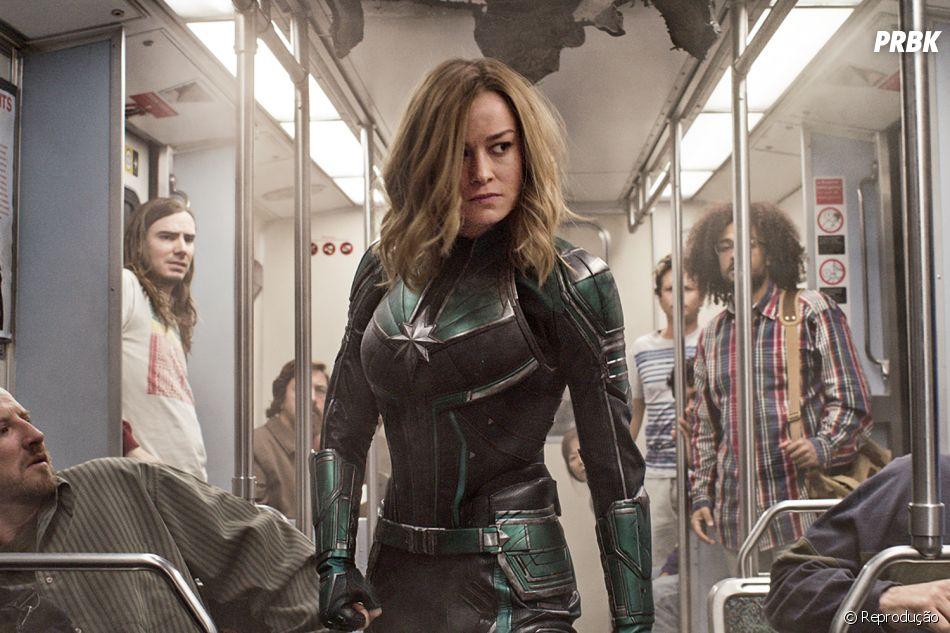 """Contrariando público machista, """"Capitã Marvel"""" mostra que mulheres são poderosas e quebra recordes"""