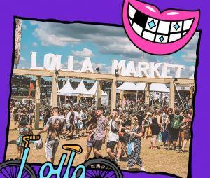 O Lollapalooza 2019 também tem a Lolla Store, loja oficial do evento, e o Lolla Market, que tem várias lojinhas de tudo quanto é produto