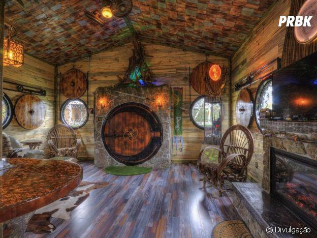 """Impossível não se sentir como Bilbo, de """"O Hobbit"""", nessa casa"""