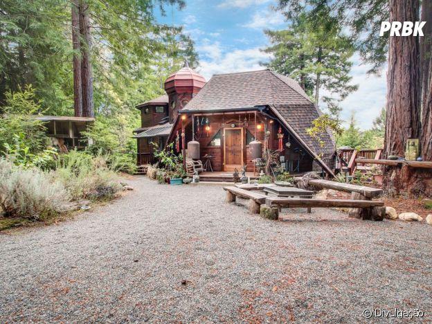 """Chamada de Bolsão, assim como em""""O Hobbit"""", esta cabana acomoda até quatro pessoas"""