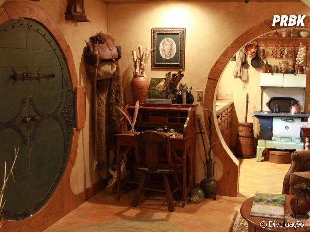 """É impossível não se imaginar dentro de """"O Hobbit"""" nessa casa"""
