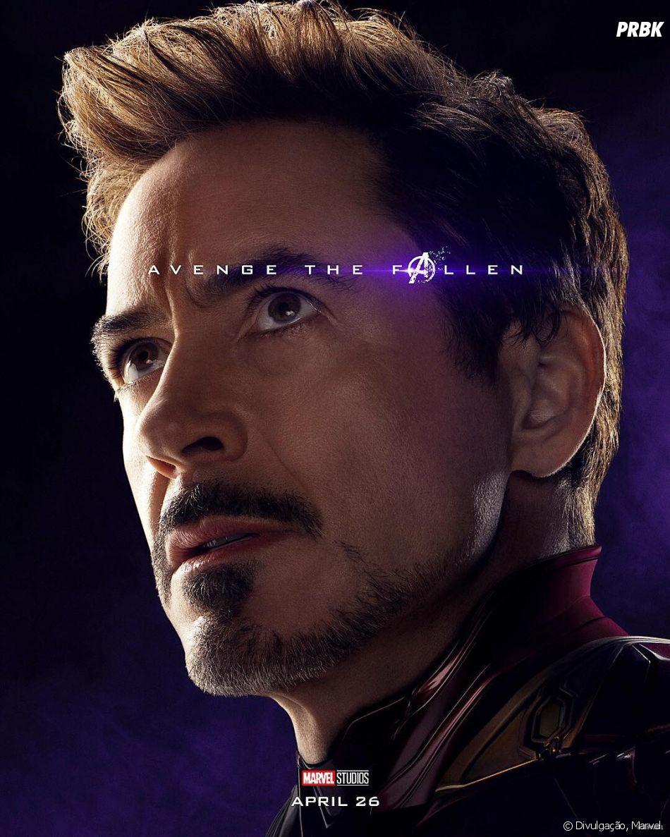 """""""Vingadores: Ultimato"""":Homem de Ferro (Robert Downey Jr.) eCapitão América (Chris Evans) fazem as pazes"""