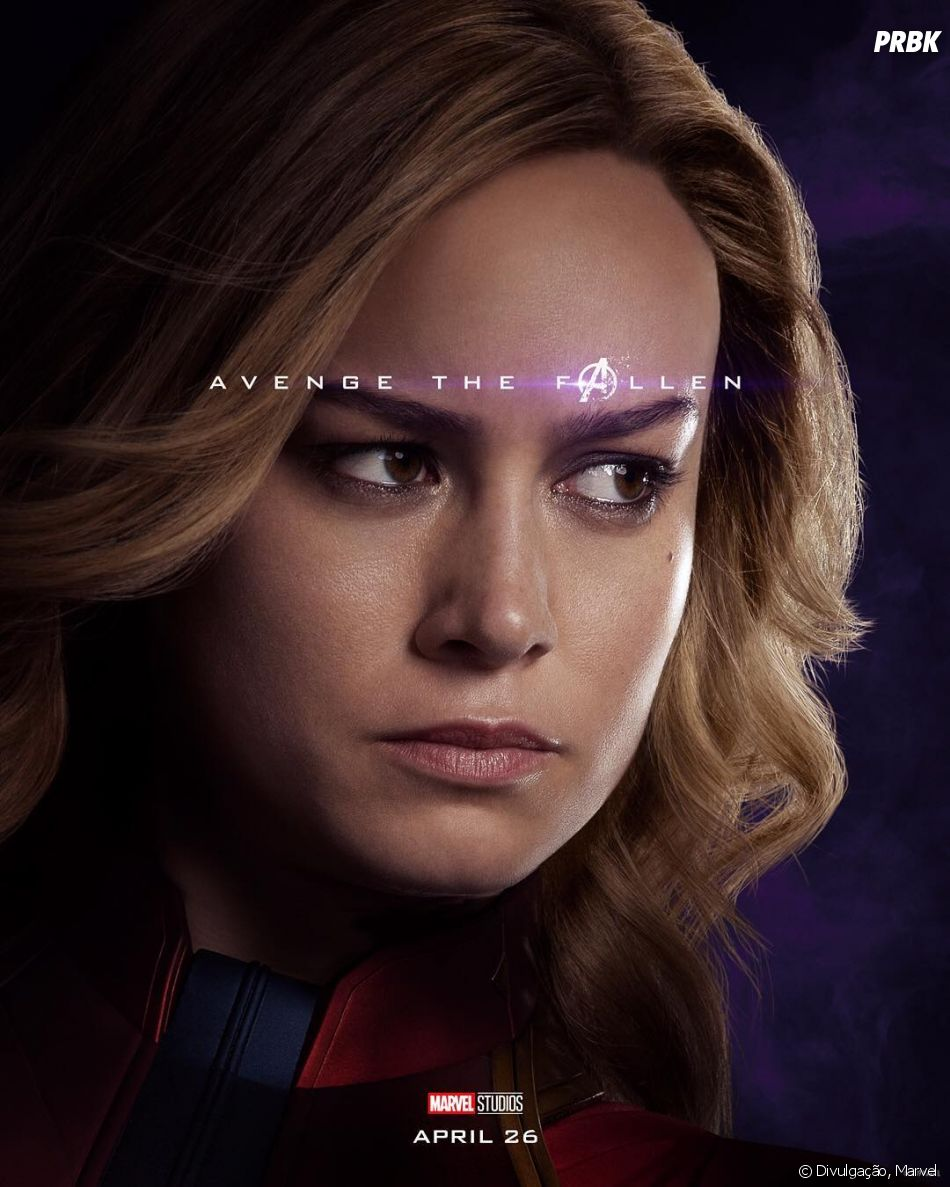 """Vingadores Ultimato"": Capitã Marvel (Brie Larson) é a grande aposta do último filme"