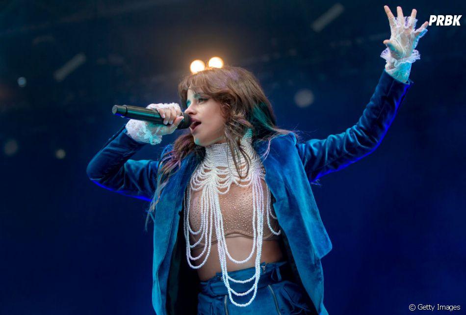 Camila Cabello mostra trecho de música com Mark Ronson