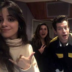 Camila Cabello resolveu mostrar um trecho da sua parceria com Mark Ronson