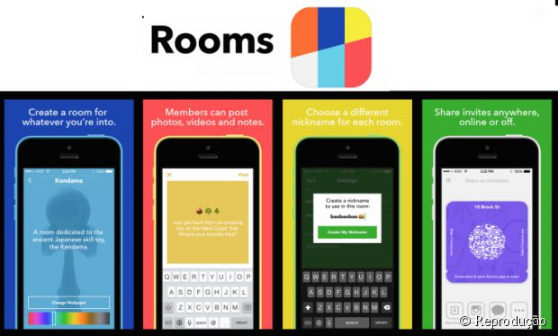 """App com salas de bate-papo anônimo """"Rooms"""" é lançado por Mark Zuckerberg"""