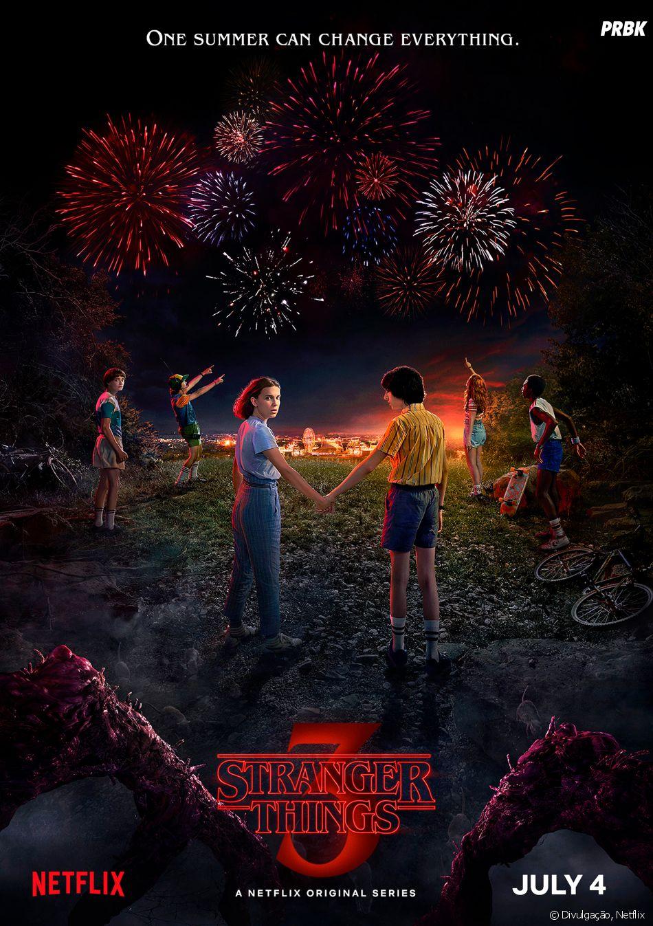"""""""Stranger Things"""": 3ª temporada estreia no dia 4 de julho"""