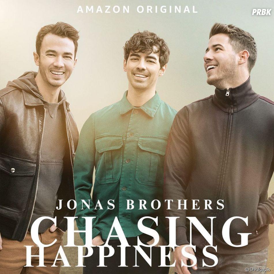 """""""Chasing Happiness"""": documentário sobre os Jonas Brothers será lançado no dia 4 de junho"""