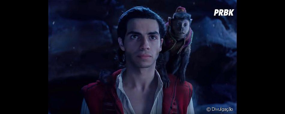 """Vote em qual trilha sonora de """"Aladdin"""" está melhor, português ou inglês"""
