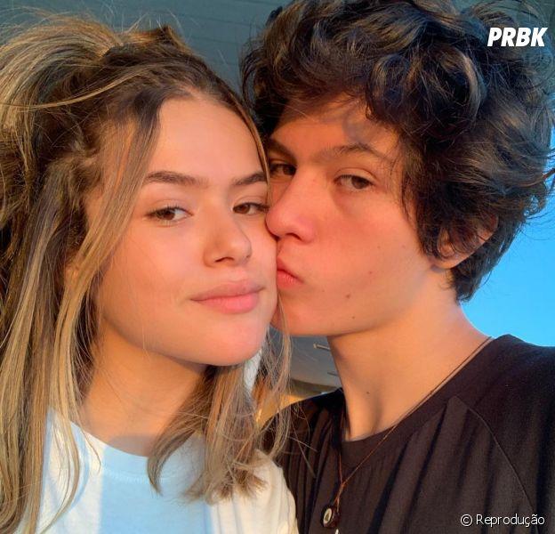 Maisa Silva já apresentou o namorado, Nicholas Arashiro, para suas amigas antes do namoro