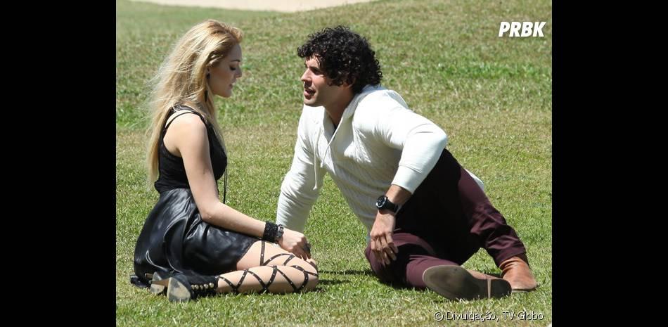 "Megan (Isabelle Drummond) se declara para Arthur (Dudu Azevedo) em ""Geração Brasil"""