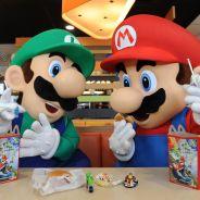 """Personagens de """"Super Mario"""" vão virar brindes do Mc Lanche Feliz!"""