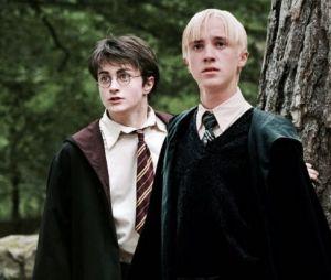 Tom Felton acredita que Harry Potter (Daniel Radcliffe) tinha um crush em Draco Malfoy