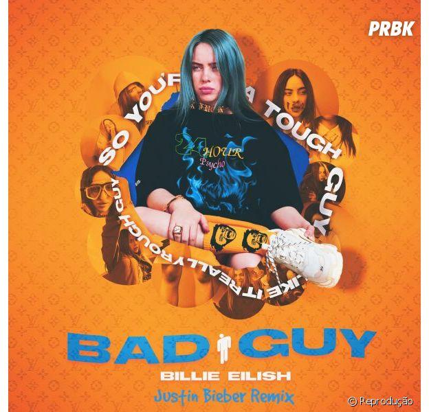 "Billie Eilish deve lançar versão remix de ""bad guy"" com Justin Bieber"