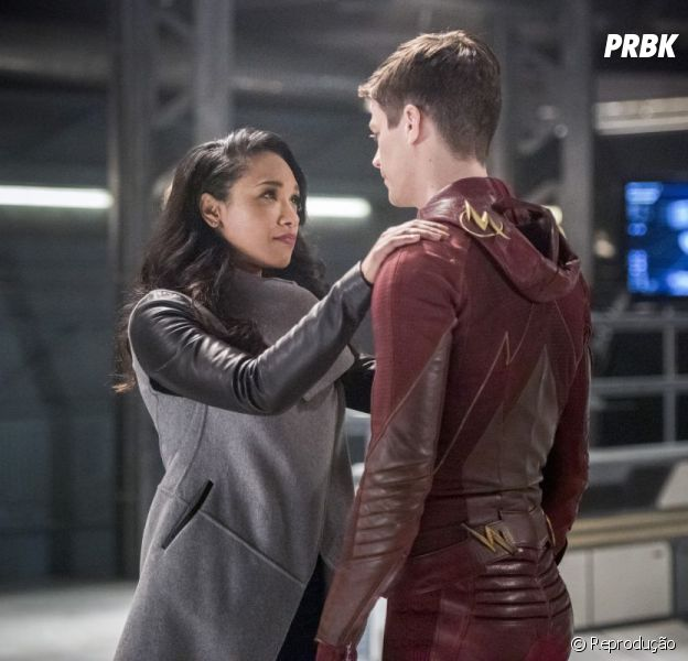 "Grant Gustin faz stories defendendo Candice Patton, colega de elenco em ""The Flash"""