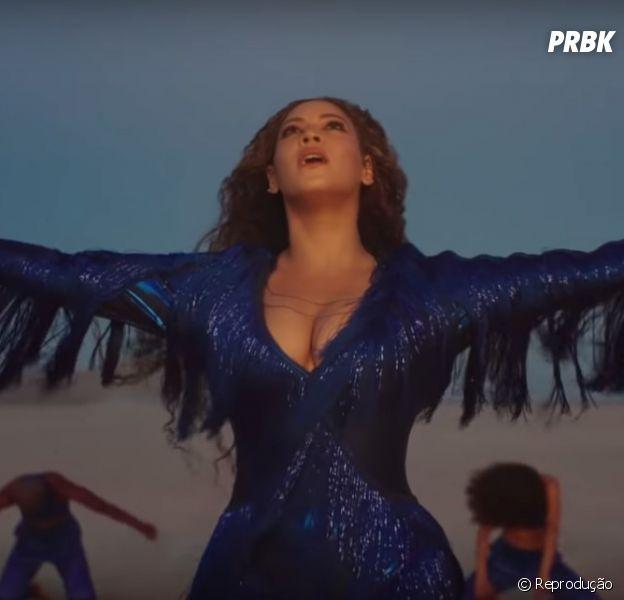 """Beyoncé está simplesmente maravilhosa no clipe de """"Spirit"""", da trilha sonora de """"Rei Leão"""""""