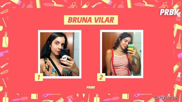 Bruna Vilar, estudante de Jornalismo, conta sua históira de transição capilar