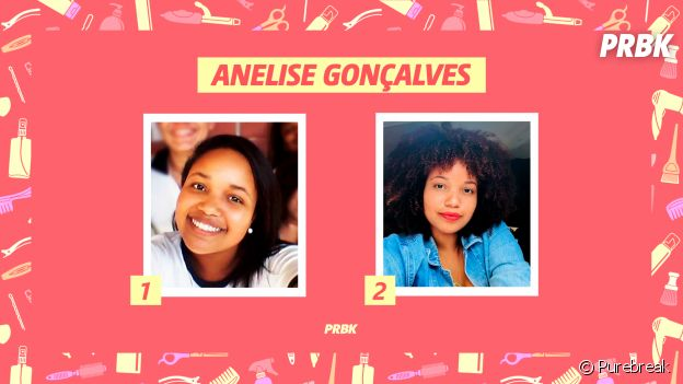 Anelise Gonçalves, estudante de Jornalismo, conta sua históira de transição capilar