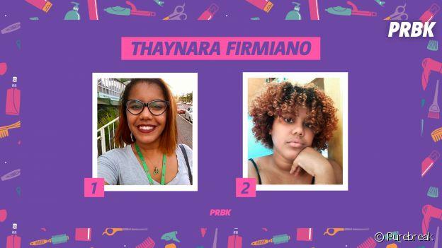 Thaynara Firmiano, estudante de Jornalismo, conta sua história de transição capilar