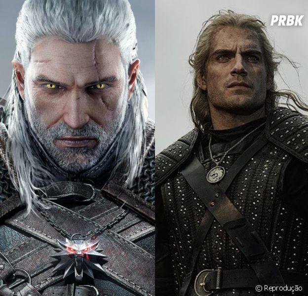 """""""The Witcher"""": compare os personagens do game e da série da Netflix"""