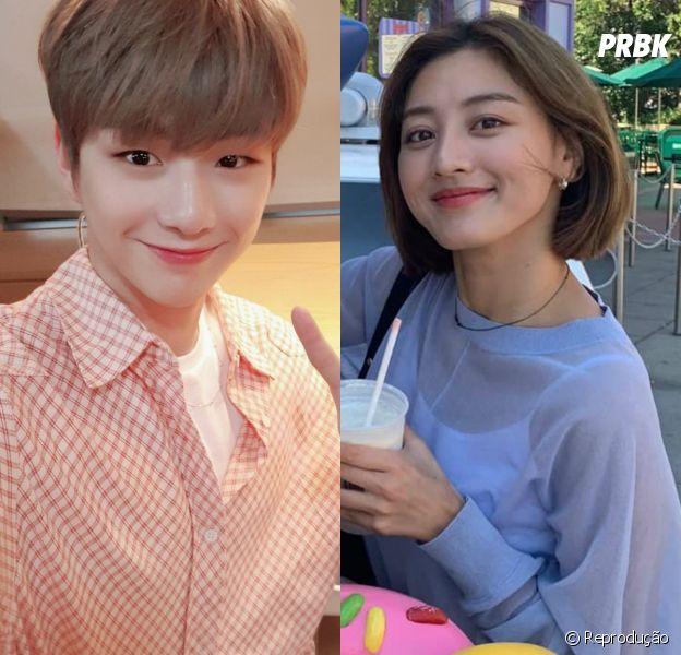 Kang Daniel e Jihyo, do TWICE, estão namorando! Empresas confirmam relacionamento dos idols
