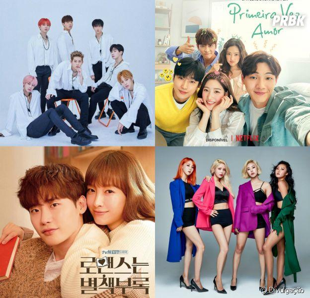 Escolha um grupo de K-Pop e te daremos um dorama para assistir