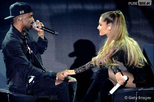 Ariana Grande e Big Sean assumiu o namoro com o rapper Big Sean em outubro deste ano