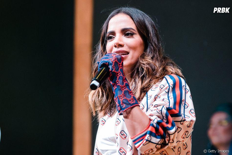 Anitta consagrou seu nome recentemente em sua primeira apresentação no Rock in Rio