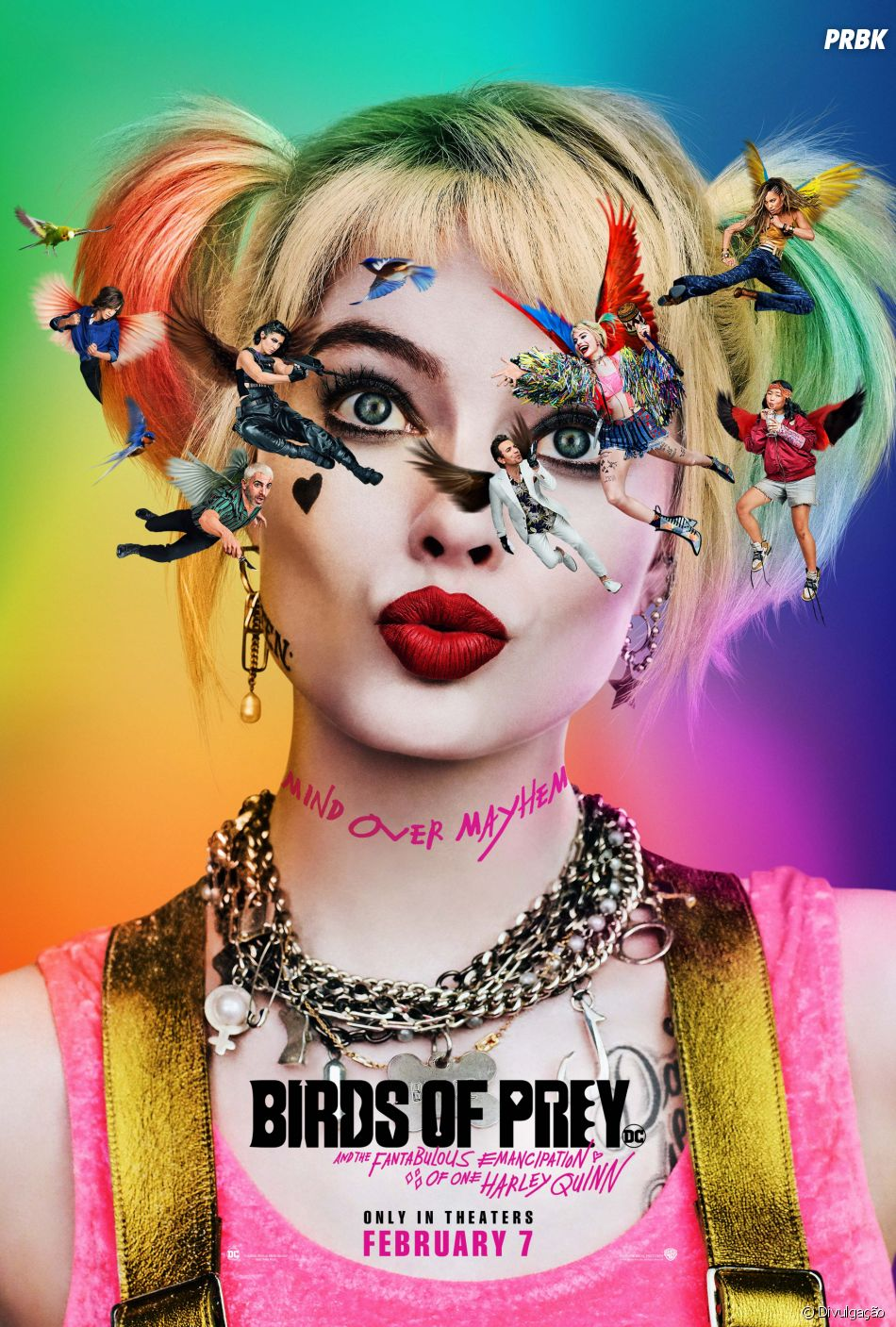 """CCXP 2019 confirma presença de Margot Robbie e elenco de """"Aves de Rapina"""""""