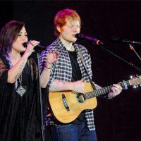 Demi Lovato confirma futura parceria musical com Ed Sheeran!