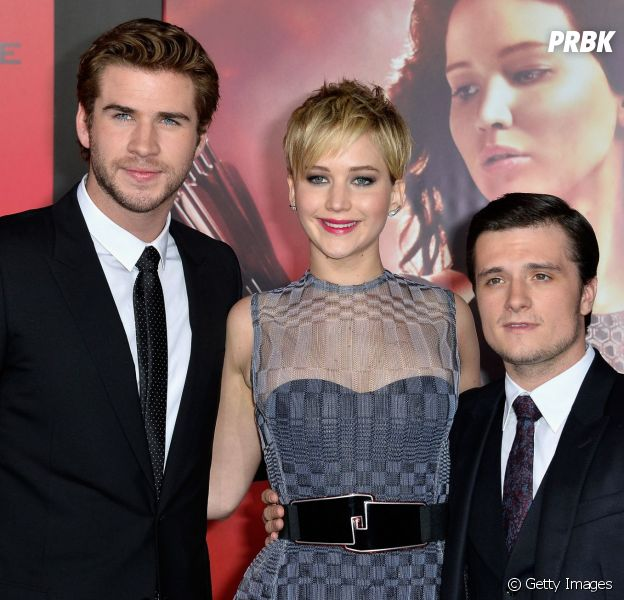 Liam Hemsworth, Jennifer Lawrence e Josh Hutcherson brincam sobre herpes em entrevista