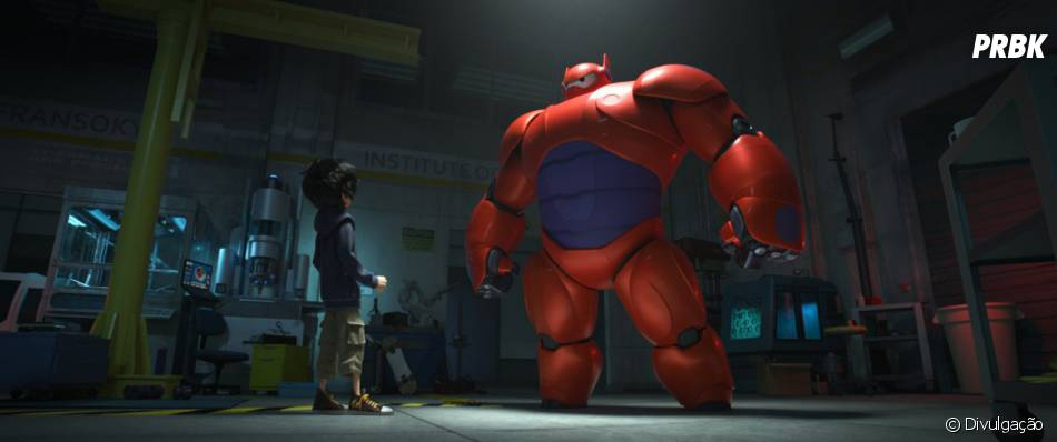 """A animação """"Operação Big Hero"""", de Don Hall, ocupa a segunda posição"""