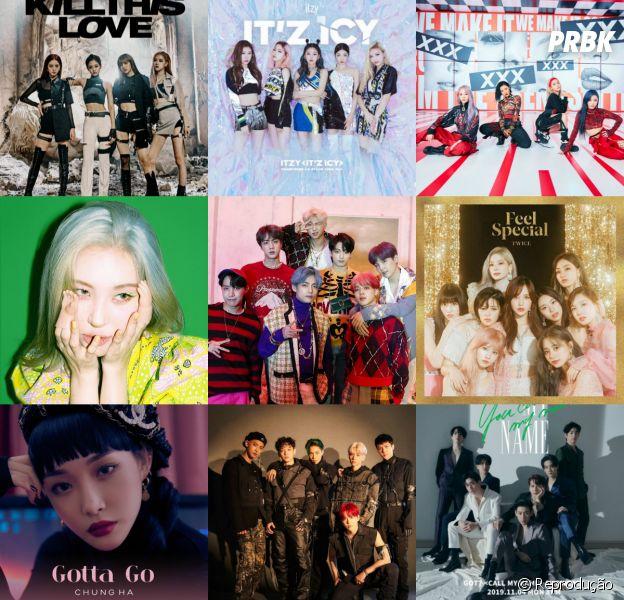 Faça o teste e descubra quantos MVs de K-Pop você assistiu em 2019