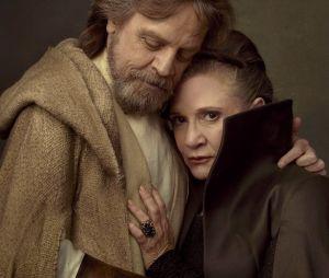 "Será que Leia (Carrie Fisher) se juntará à Luke (Mark Hamill) na Força em ""Star Wars: A Ascensão Skywalker""?"