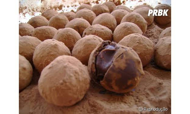 Trufas ficam deliciosas com recheio de Nutella