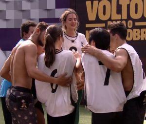 """""""BBB20"""": Gabi Martins se emociona após derrota do Grupo Camarote na Prova de Resistência que valia imunidade do grupo"""