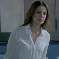 """Em """"Amor à Vida"""": Paloma vai flagrar Bruno com Aline e dará uma surra na mau-caráter!"""