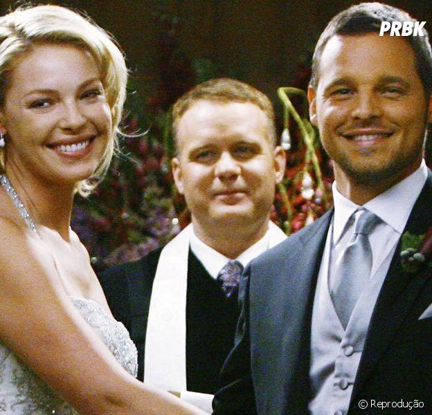 "Em ""Grey's Anatomy"", na 16ª temporada: Alex (Justin Chambers) larga tudo para voltar com Izzie (Katherine Heigl)"