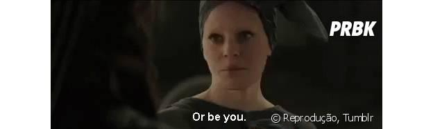 """""""ou ser você."""""""