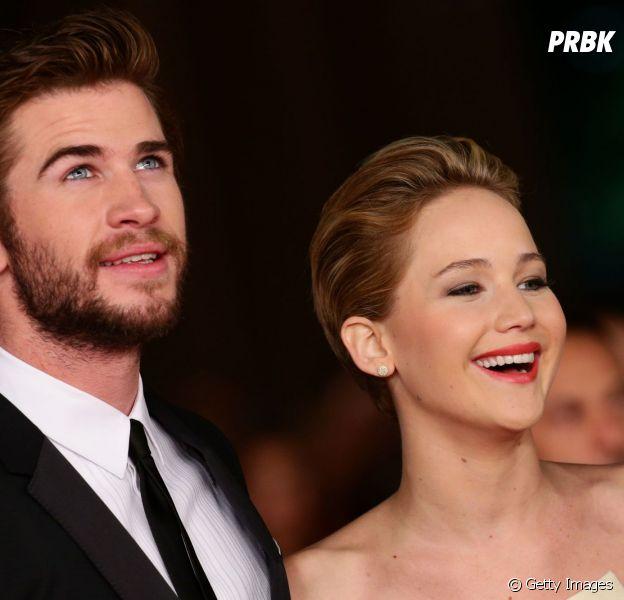 """Os melhores amigos Jennifer Lawrence e Liam Hemsworth contracenam juntos em """"Jogos Vorazes"""""""