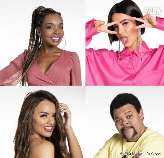"""Final """"BBB20"""": 5 situações que podem impedir Babu, Thelma, Rafa e Manu de chegarem juntos no desfecho do reality show"""