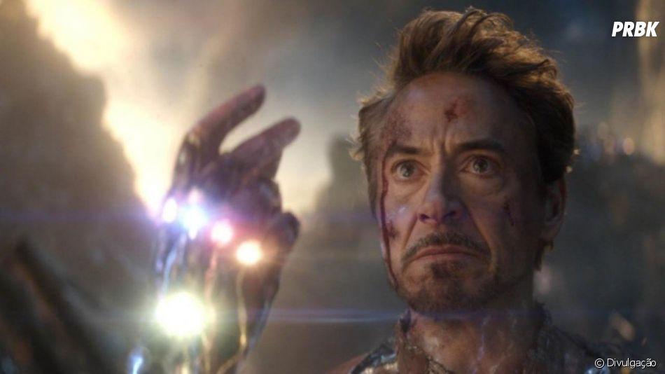 """Tony Stark (Robert Downey Jr.) morreu em """"Vingadores: Ultimato"""" salvando o mundo"""