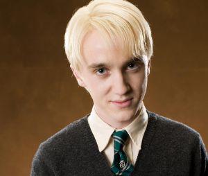 """Tom Felton, de """"Harry Potter"""", vira meme com resultado do teste das casas de Hogwarts"""