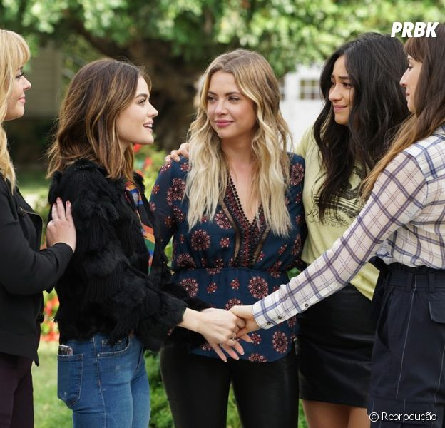 """Pretty Little Liars"": elenco fará live beneficente nesta sexta (15)"