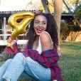 Recentemente, Any Gabrielly atingiu a marca de 4 milhões de seguidores no Instagram