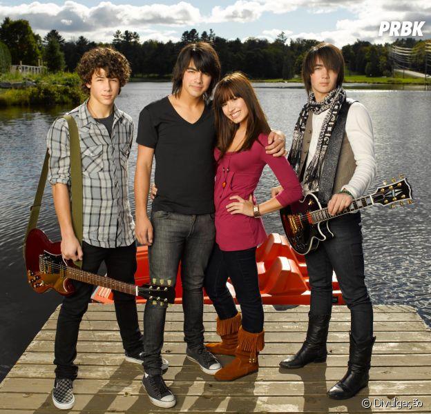 """""""Camp Rock"""": Demi Lovato e Jonas Brothers zoam o filme até hoje! Confira"""